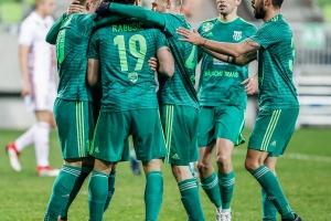 Szombathelyi Swietelsky-Haladás-Debrecen 1-1